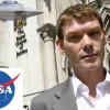 Gary McKinnon outside UK Court House