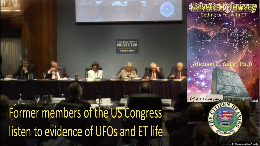 Interacting with Extraterrestrials after Citizen's Hearing on Disclosure