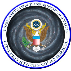 Mockup of Department of Exopolitics Logo. Credit: Exopolitics.org