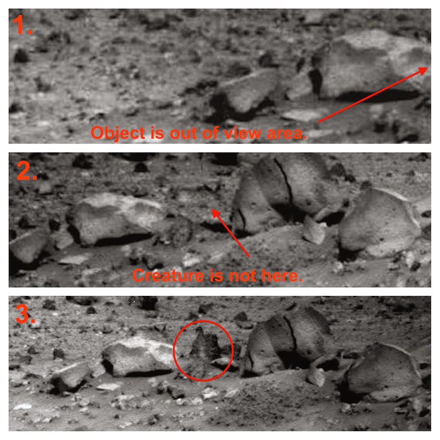 Hard evidence of life on Mars that NASA doesn't want to ...