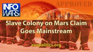 Video – Slave Colony on Mars Claim goes Mainstream