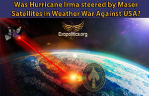 Video: Was Hurricane Irma Steered by Maser Satellites in Weather War against USA?