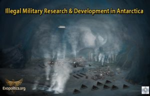 Illegal Military Research and Development in Antarctica