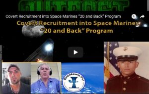 "Interview – Covert Recruitment into Space Marines ""20 and Back"" Program"
