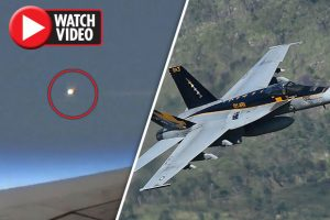 New Audio Footage Reveals Moment F-18 Fighter Jets Spotted UFO