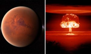 Mars Was Destroyed by Interplanetary Nuclear War in Battle Described in Bible