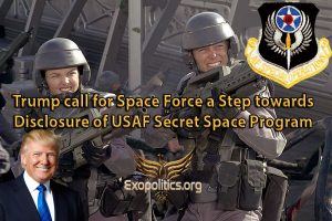 Trump call for Space Force a Step towards Disclosure of USAF Secret Space Program