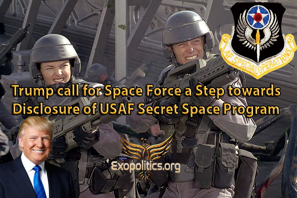 Trump call for Space Force a Step towards Disclosure of ...