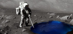 Vast Reserve of Frozen Water Might Hide Beneath the Moon's Surface