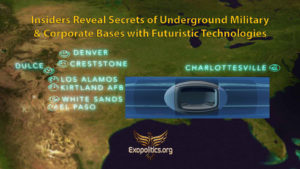 Insiders Reveal Secrets of Underground Military & Corporate Bases with Futuristic Technologies