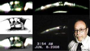 Verified UFO Footage With Two Beings Inside of the Craft:  In the Videographer's Own Words