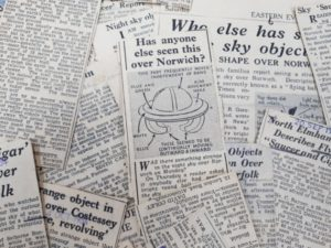 Weird Norfolk: Abiding Mystery of the County's 1954 UFO Sightings