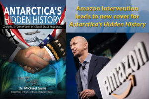Amazon intervention leads to new cover for Antarctica's Hidden History