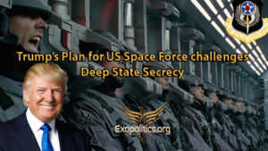 Trump's Plan for US Space Force challenges Deep State Secrecy