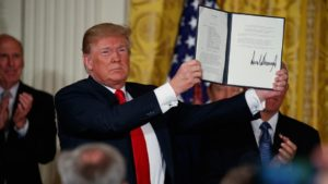 Trump Directs DOD to Establish a Space Force in a Surprise Announcement