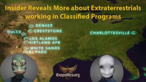 Insider Reveals More about Extraterrestrials working in Classified Programs