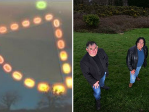 The Strange Night in a Welsh Field Involving 'Huge UFO Lights, Explosions and Military Planes'