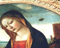 Filippo Lippi School Madonna St John UFO